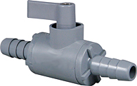 Two Way Plastic Ball Valve Configurator